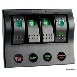 Tableau électrique série PCP Compact avec circuit breaker + LED