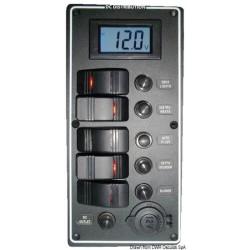 Panneau électrique série PCAL avec voltmètre numérique 9/32 V