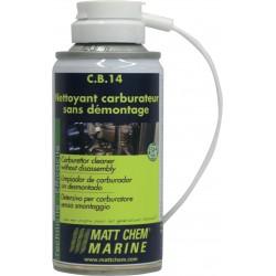 Mattc Chem - Aérosol CB14 - Nettoyant carburateur