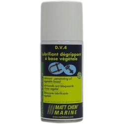 MATT CHEM - D.V.4 - Aérosol dégrippant / lubrifiant à base d'extraits végétaux
