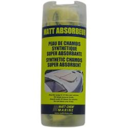 MATT CHEM - MATT ABSORBER - Peau de chamois synthétique
