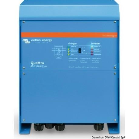 Système combiné VICTRON Quattro - Chargeur de batterie + Inverseur