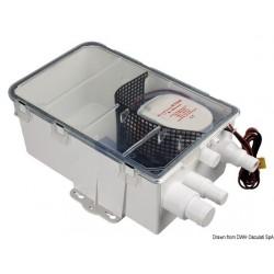Collecteur d'eaux usées, avec pompe automatique EUROPUMP AUTO