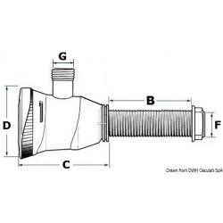 Pompe électrique ATTWOOD pour aération et recyclage des eaux dans les viviers des poissons et des appâts