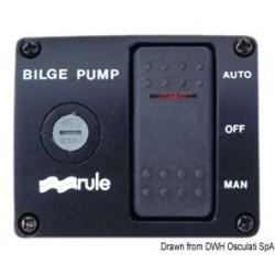 Interrupteur pour pompe de fond de cale type DE LUXE