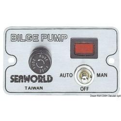 Panneau de commande pour pompes de fond de cale électriques